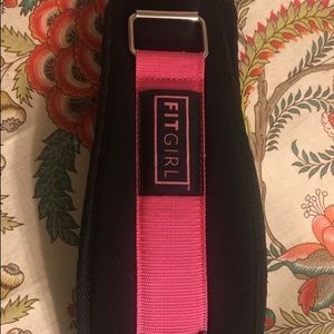 FITGIRL - Pink Weight Lifting Belt